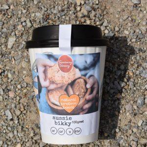 Aussie Bikky <br> 100g art series cup