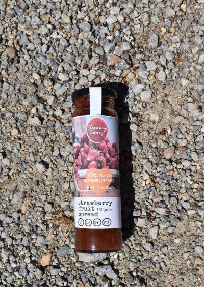 Strawberry Fruit Spread <br/>150g jar 2