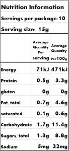 Non dairy creamy <br/>Jalapeno Relish <br/>150g jar 6