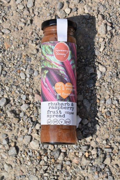Rhubarb & Raspberry <br/>Fruit Spread <br/>150g jar 2