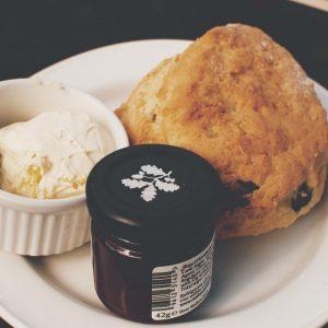 Scone with jam & non dairy cream<br>Nut free <br>MELBOURNE