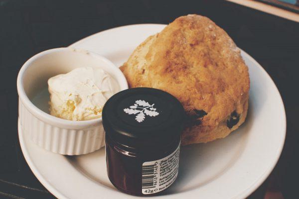 Scone with jam & non dairy cream<br>Nut free <br>MELBOURNE 2